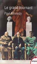LE GRAND TOURNANT Kennedy TEMPUS 581 livre Seconde Guerre Mondiale livre