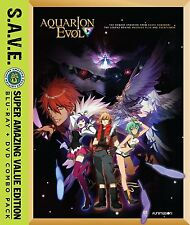 Aquarion Evol . The Complete Season 2 . Anime . 4 DVD + 4 Blu-ray . NEU . OVP