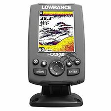 Lowrance Hook-3X Fishfinder with 83/200 Transducer Depth Finder Fish Locator