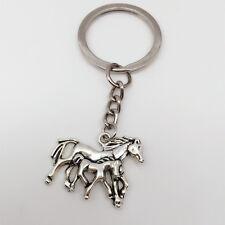 Horse Animal Figurine Charm Key Rings Key Chain Pendant Jewelry