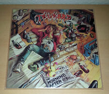 TANKARD - The Morning After LP [NM] OIS 1988 Noise # Kreator Sodom Exodus Exumer