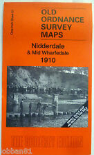 Old Ordnance Survey Map Gassington Birstwith Skipton Blubberhouses Dist 1910 S61