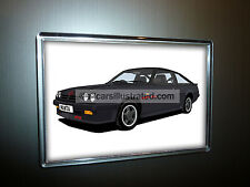 OPEL MANTA GTE EXCLUSIVE HATCHBACK FRIDGE MAGNET. CHOOSE YOUR CAR COLOUR.