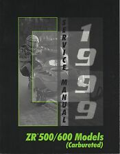 1999 ARCTIC CAT SNOWMOBILE ZR 500/600 (CARBURETED) SERVICE MANUAL (914)