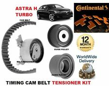 FOR VAUXHALL OPEL ASTRA H 2.0 TURBO 2004-2010 TIMING CAM BELT TENSIONER KIT