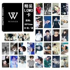 New 30pcs set Kpop WINNER Collective Photo Picture Poster Lomo Card
