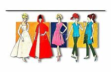 300+ Vintage Patterns Made For Barbie On CD *Largest Collection Out There*