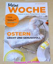 Weight Watchers Meine Woche 17.03.2013 - 23.03.2013 ProPoints™ Plan 360° *2013*