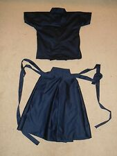 Custom Made To Order Child Size Kendo Martial Arts Uniform Keiko Gi & Hakama Set