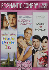 Fools Rush In / Made Of Honor / Wedding Planner - 2 DIS (2016, REGION 1 DVD New)