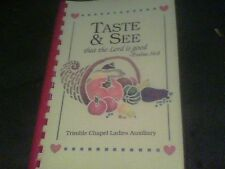 1995 Taste & See that the Lord is good by Trimble Chapel Ladies Auxiliary s21