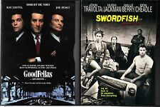 Goodfellas (DVD, 2007) & Swordfish - 2 Crime Drama DVDs