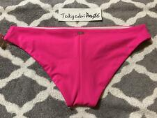 XS Victoria's Secret SWIM Sexy Bottom Cheeky Beach Pool Bikini Hot Pink
