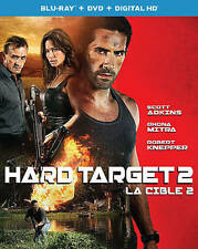 Hard Target 2 (Blu-ray/DVD, 2016, 2-Disc Set, Canadian)