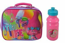 Dreamworks Trolls Life & Family Lunch Bag Plus Water Bottle