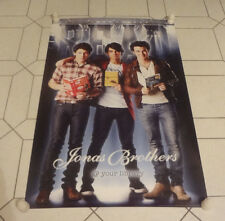 "Jonas Brothers READ Library Poster ALA 2009 22""x34"" Nick Joe Kevin"
