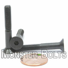M5-0.80 x 35mm - Qty 10 - FLAT HEAD Socket Cap Screws Countersunk CL 12.9 M5