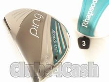 PING Rhapsody 2015 Fairway 18* 3 Wood LITE Flex +Cover ... LADIES  LEFT LH  MINT