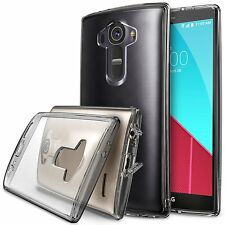 LG G4 Case For Ringke Fusion Ultra Slim Hard Clear View Back Dust Cap Cover