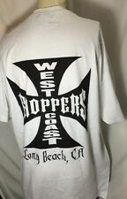 Jesse Who?West Coast Choppers Iron Cross Short Sleeves, White T-Shirt Men 2XL
