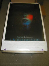 UNDER THE SKIN / ORIG. U.S. ONE SHEET MOVIE POSTER (SCARLETT JOHANSSON)  DS