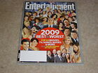 BEST & WORST #1082 1083 December 2009 January 2010 ENTERTAINMENT WEEKLY MAGAZINE