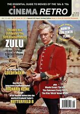 CINEMA RETRO ISSUE #28 ZULU 50TH ANNIVERSARY JAMES BOND GOLDFINGER, MOVIE COMICS