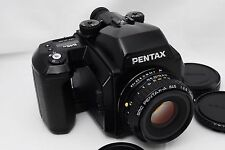[Exc+++++] PENTAX 645N Medium Format w/SMC 75mm f/2.8,120 Film Back From Japan