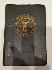 Antique Plumbing Fixtures Book 1896 ELJER CO. Washington