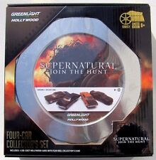 HOLLYWOOD FILM REEL 4 CAR SET SUPERNATURAL JOIN THE HUNT IMPALA CHARGER PLYMOUTH