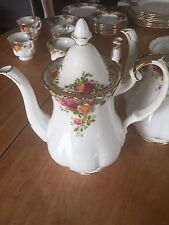 Royal Albert Old Country Roses 42-Ounce Coffee Pot Brand New