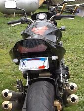 Kawasaki and Ninja Fender eliminator tail tidy kit UNIV black 2T/S