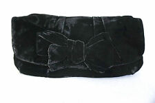 Handtasche Tasche Clutch Miu Miu by PRADA schwarz Samt Wie Neu