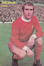 Football Photo BOBBY GRAHAM Liverpool 1960s