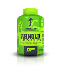 Arnold Iron Cuts - 3-IN-1 Fat Metabolizing and Cutting Agent Pills(90 Capsules)