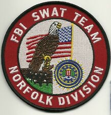 Fbi: Norfolk-virginia-Swat Team S.W.A.T. Police Patch SEK policía Patch
