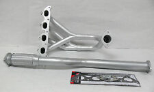 OBX Silver Header Manifold Exhaust Fits 2002 thru 2007 Tiburon Base GS 2.0L DOHC