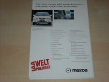 45681) Mazda 626 Kombi Prospekt 1997