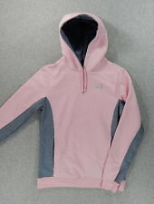 Under Armour PINK RIBBON Stitched Hoodie Sweatshirt (Women's X-Small) Pink