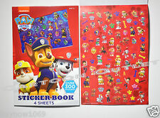 PAW PATROL STICKERS BOOK OVER 300 STOCKING STUFFER GIFT STATIONARY PARTY FAVORS