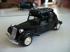Solido Citroen 15 CV in Black on 1:43