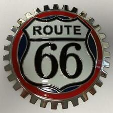 Vintage Looking Route 66 Car Grille Badge NEW
