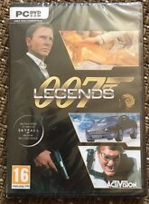 007 legends-pc jeu james bond brand new & sealed