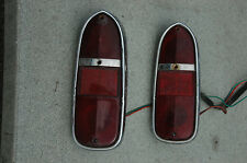 TRIUMPH TR4 FACTORY TAILLIGHT LENSES AND HOUSING
