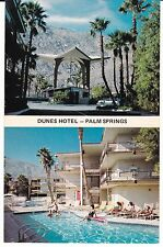 "Palm Springs CA ""The Dunes Hotel""  Postcard California * FREE US SHIPPING"