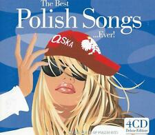 4 CD album - BEST OF POLISH SONGS EVER - ANITA LIPONICKA BRATHANKI    / ABC14