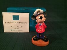 "WDCC Disney Cruise Lines - Mickey Mouse ""Welcome Aboard!"" New in Box"