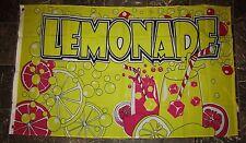 3x5 Advertising Lemonade Stand Flag 3'x5' Banner Brass Grommets