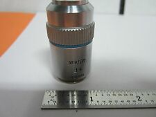 MICROSCOPE LEITZ WETZLAR GERMANY 40X OBJECTIVE EF OPTICS BIN#B5-D-67
