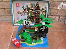 Lego Pirates – 6270 Forbidden Island - Instructions – 1989 - Vintage Set